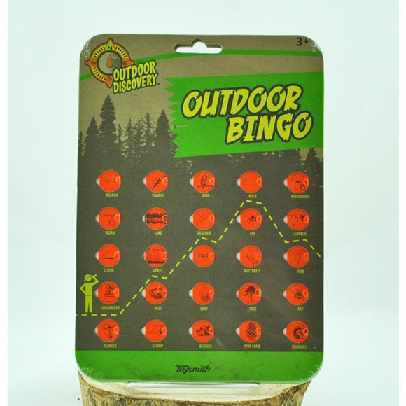 Outdoor Bingo (Ages 3+)
