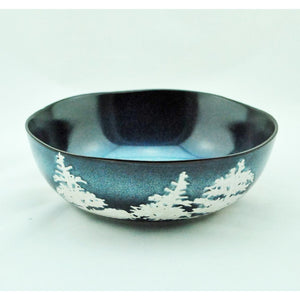 Blue Forest Serving Bowl