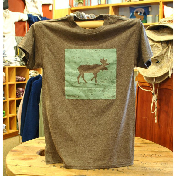 Moose Badge Tee Shirt