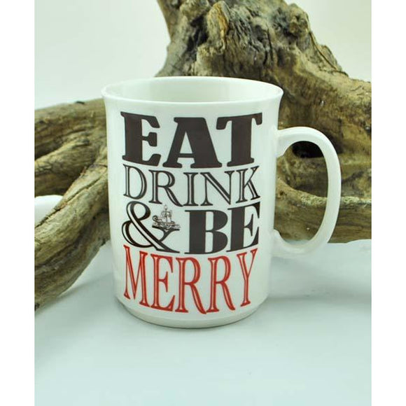 Eat, Drink, & Be Merry Mug