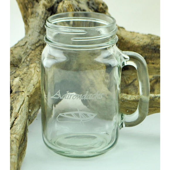 Mason Jar Glass (4 styles available)