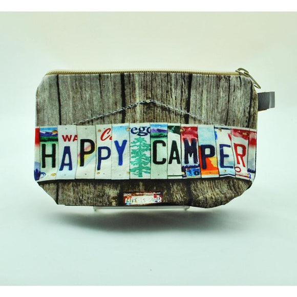 Happy Camper Zip Pouch