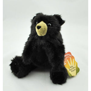 Baby Black Bear Hand Puppet (Ages 3+)
