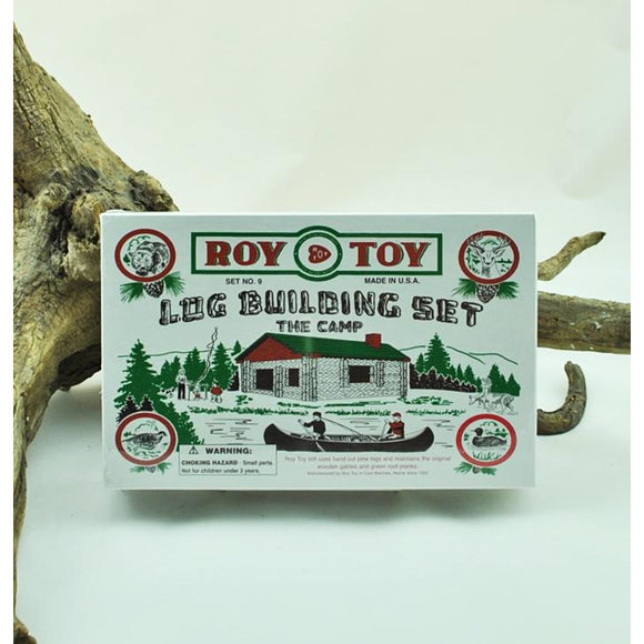 Log Cabin Building Set