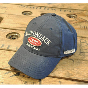 Adirondack Mountains Hat with Canoe