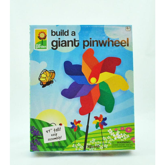 Build a Giant Pinwheel (Ages 6+)
