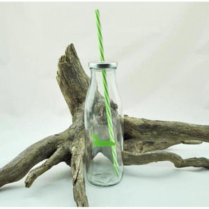 Glass Sipper with Straw (4 styles available)