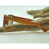 Adirondack Experience Exclusive Wood Grain Sunglasses