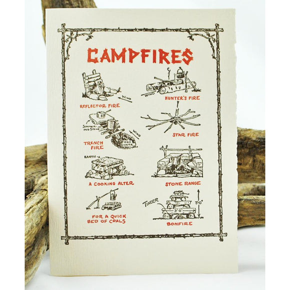 Campfires Single Note Card