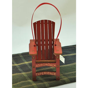 Exclusive Wooden ADK Chair Ornament