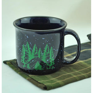 Camping Theme Coffee Mug