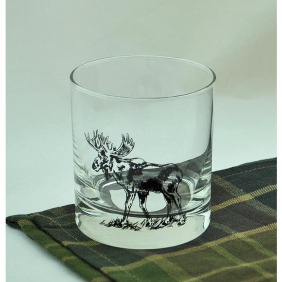 Moose Rocks Glass