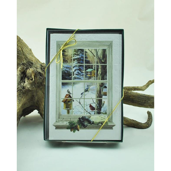 Birdwatchers Window Boxed Set of Cards