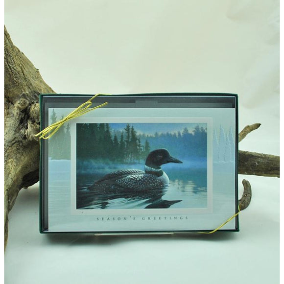 Loon in the Morning Boxed Set of Cards
