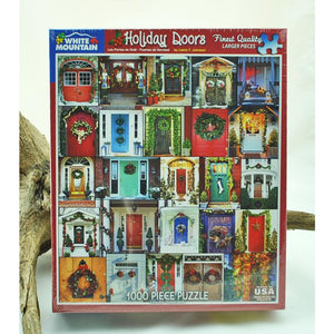 Holiday Doors 1,000 Piece Puzzle
