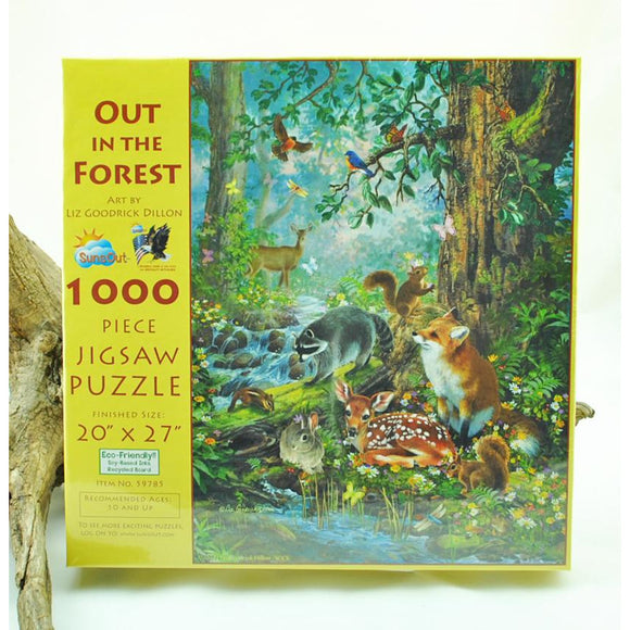 Out in the Forest 1,000 Piece Puzzle