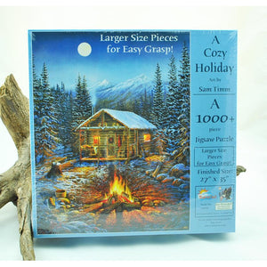 A Cozy Holiday 1,000 Piece Puzzle