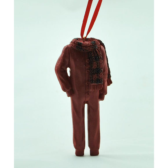 Red Long Johns Ornament