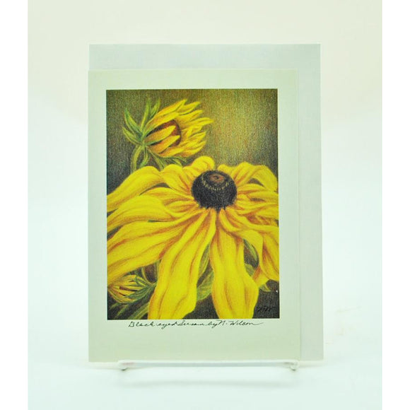 Flower Note Card (8 Styles Available)