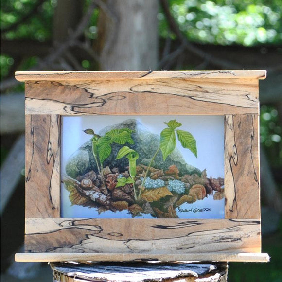 Spalted Maple Photo Frame (2 Styles Available)