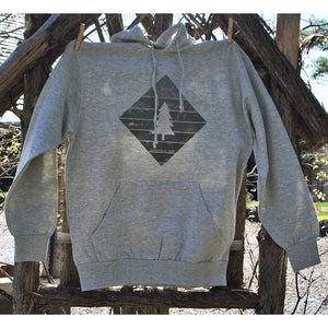 Adirondack Park Green Diamond and Tree Sweat Shirt