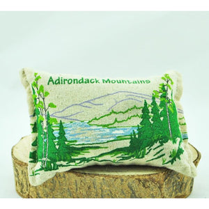 "'Adirondack Mountains"" Balsam Pillow"