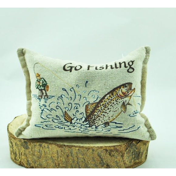 'Go Fishing' Balsam Pillow