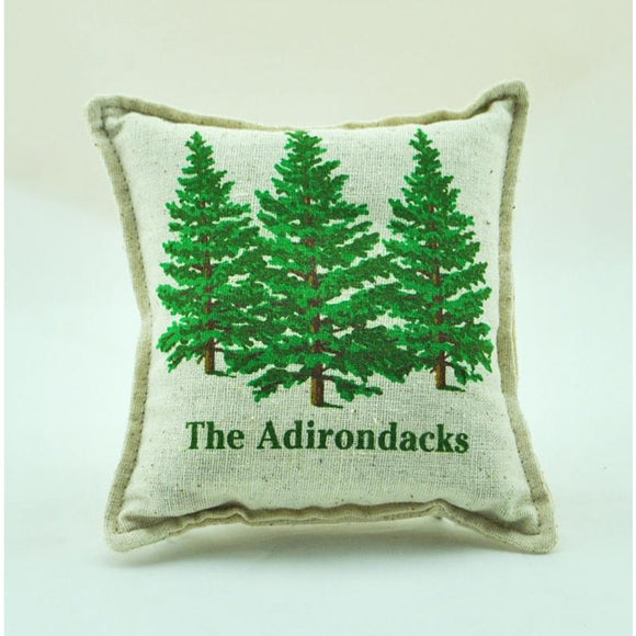 'The Adirondacks' Three Pines Balsam Pillow