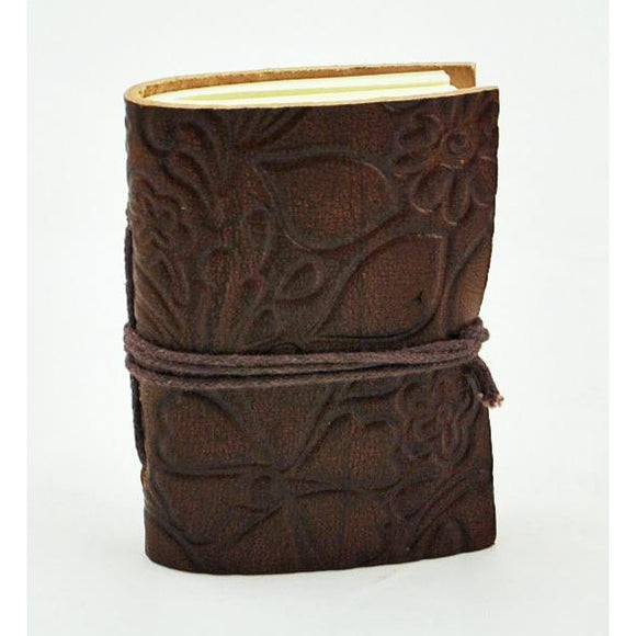 Mini Leather Journal (Assorted Colors and Styles)