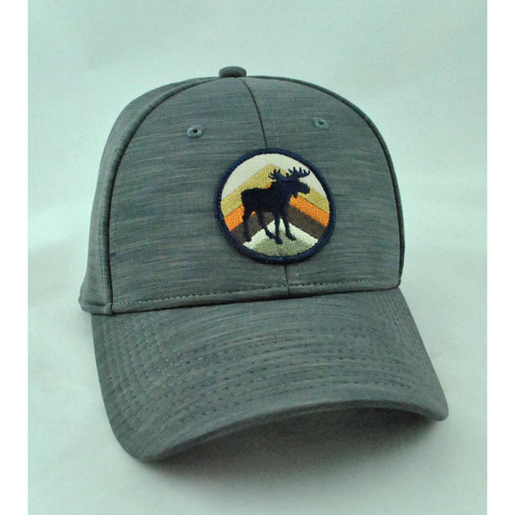 Moose Patch Navy Hat