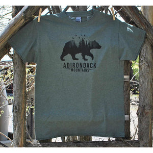 Bear with Trees Tee (2 Colors Available)