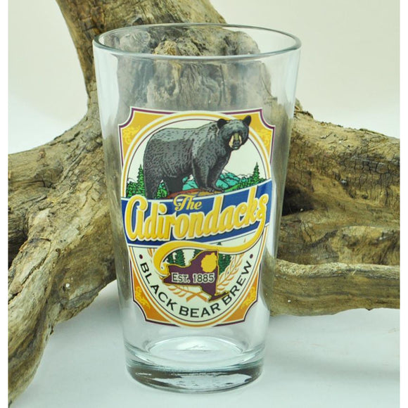 Black Bear Brew Pint Glass