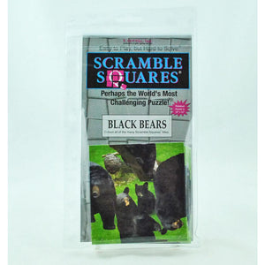 Black Bears Scramble Square Puzzle