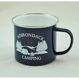 Adirondack Camping Tin Mug (Available in 2 colors)