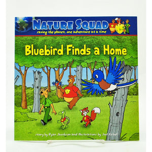 Bluebird Finds A Home