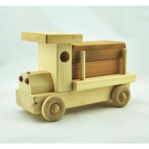Hand Made Wooden Log Truck (Ages 5+)