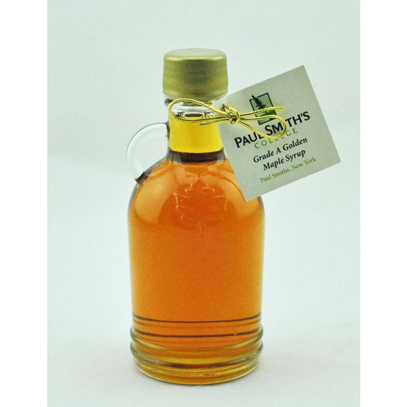 Grade A Maple Syrup with Leaf Embossed Bottle