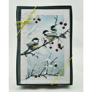Cheeky Chickadee Boxed Card Set