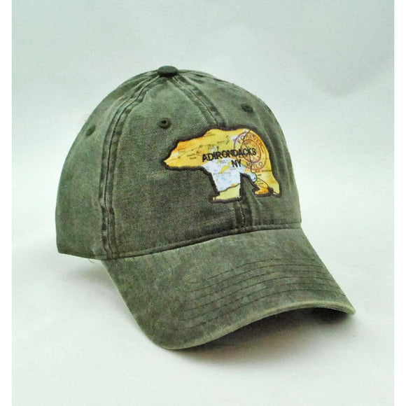 Topo Bear Map Hat (2 Styles Available)