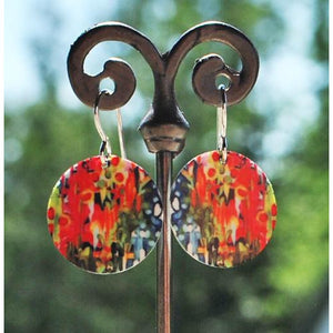 Isla Disc Earrings