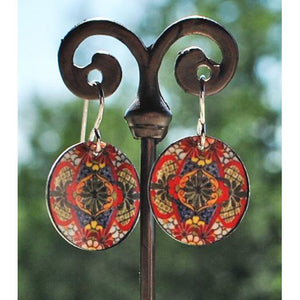 Reina Disc Earrings