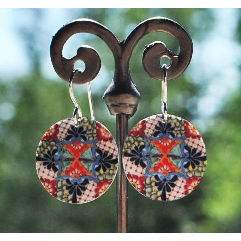Camala Disc Earrings