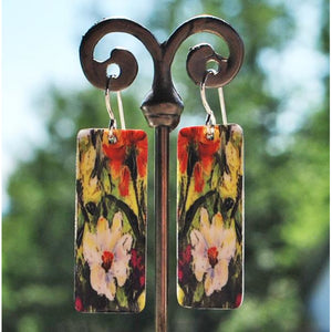 Gardenia Dangle Earrings
