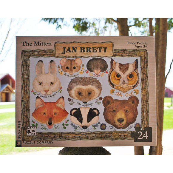 'The Mitten' 24 Piece Floor Puzzle