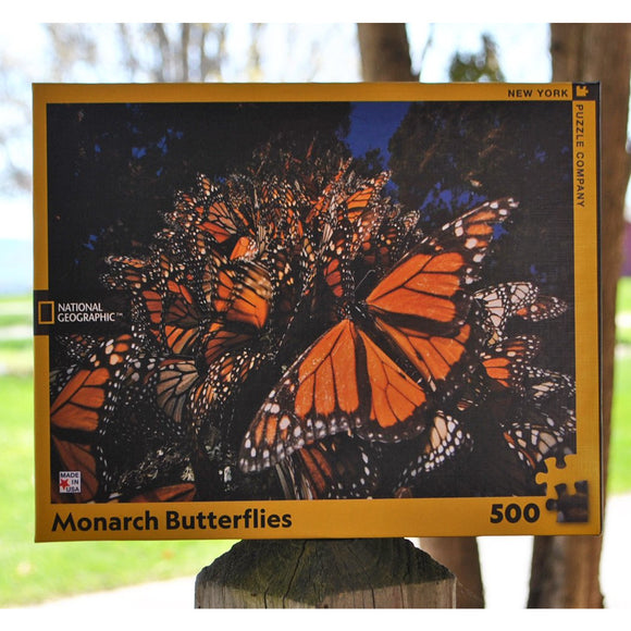 Monarch Butterflies 500 Piece Puzzle
