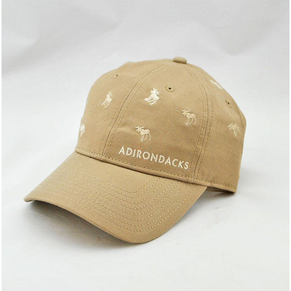 Many Moose Khaki Hat