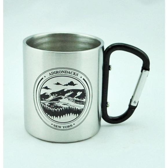 Adirondacks Carabiner Mug 92 Colors Available)