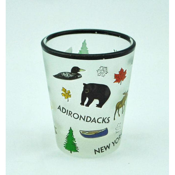 Adirondack Icons Shot Glass