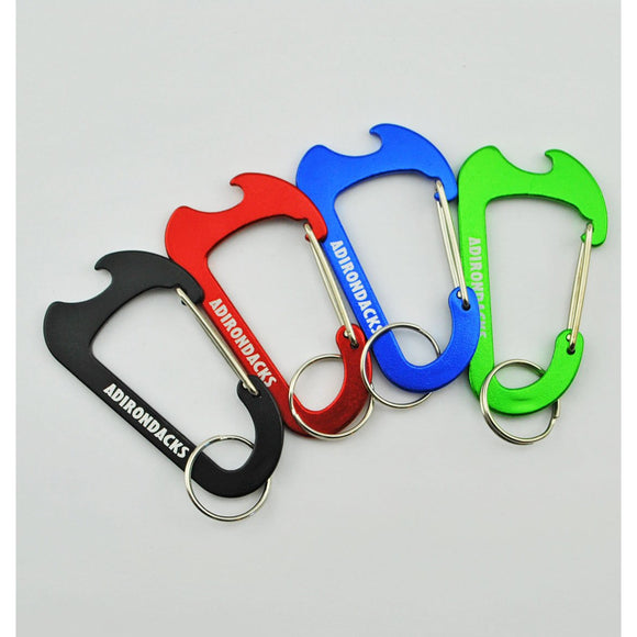 Adirondacks Bottle Opener Carabiner (4 Colors Available)