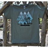 Triangles Trees Tee (3 Colors Available)